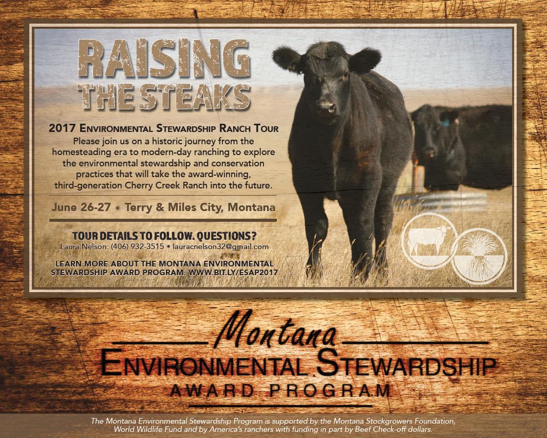 Raising The Steaks: Environmental Stewardship Ranch Tour @ Terry & Miles City